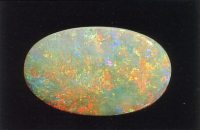 (D) White opal of N1 body tone and a red-blue play-of-colour. (Photographs, R. Weber)